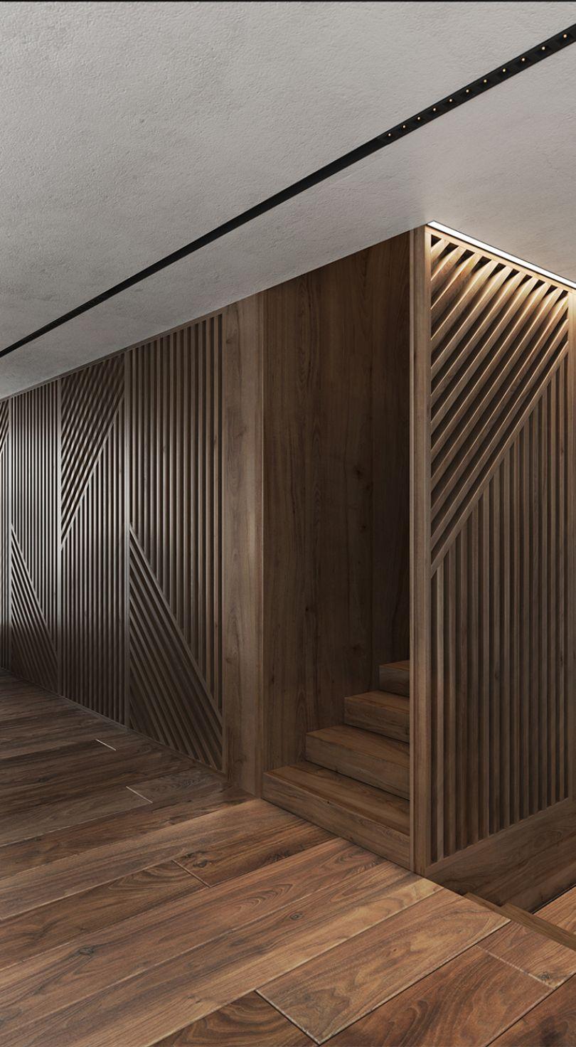 деревянные рейки на стену