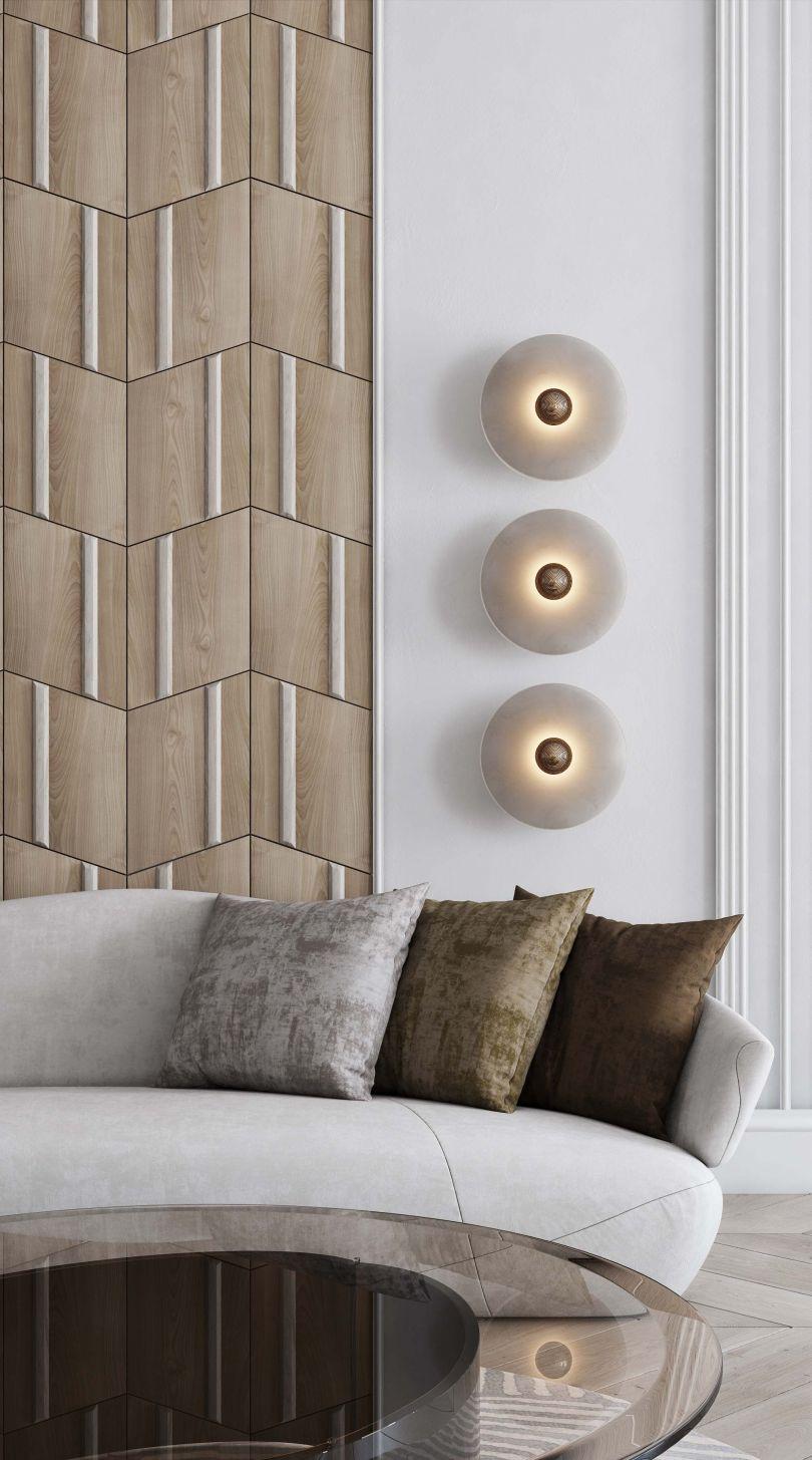 дизайн деревянных панелей