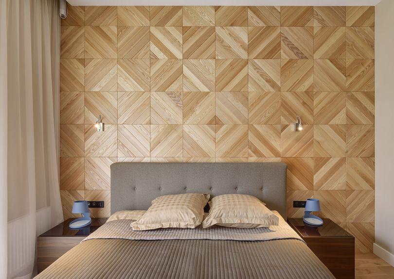 стеновые панели с паркетным рисунком