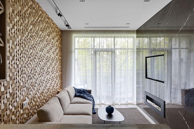 мозаика деревянная