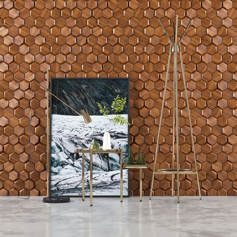 деревянный декор для стен