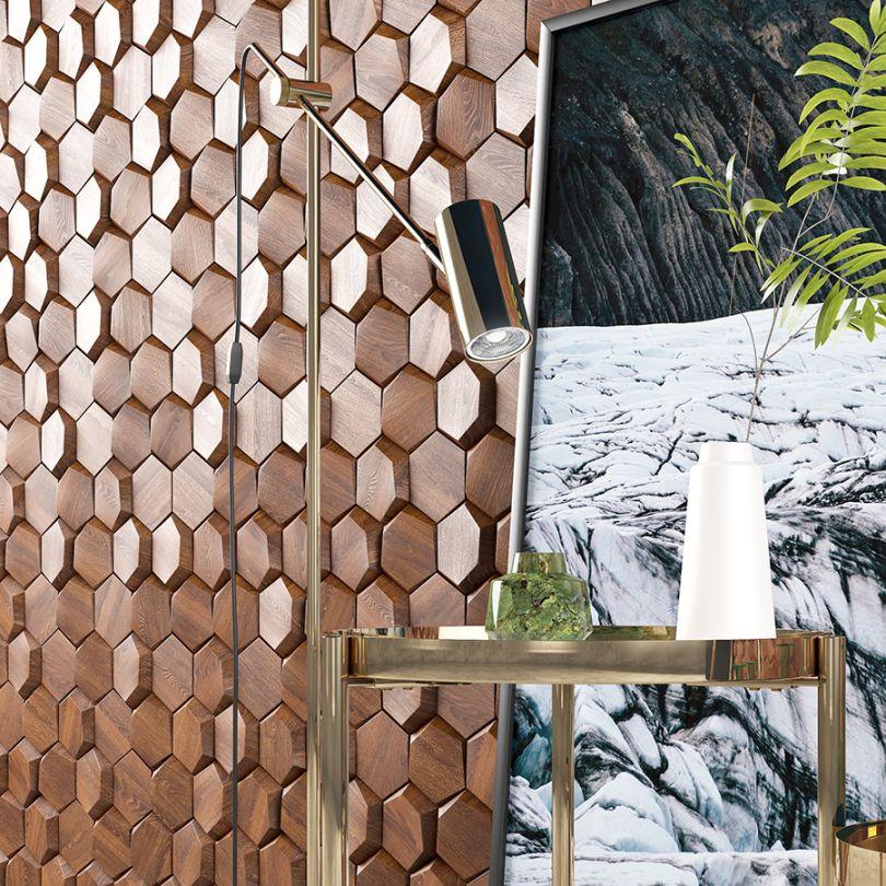 деревянные панели 3D модели
