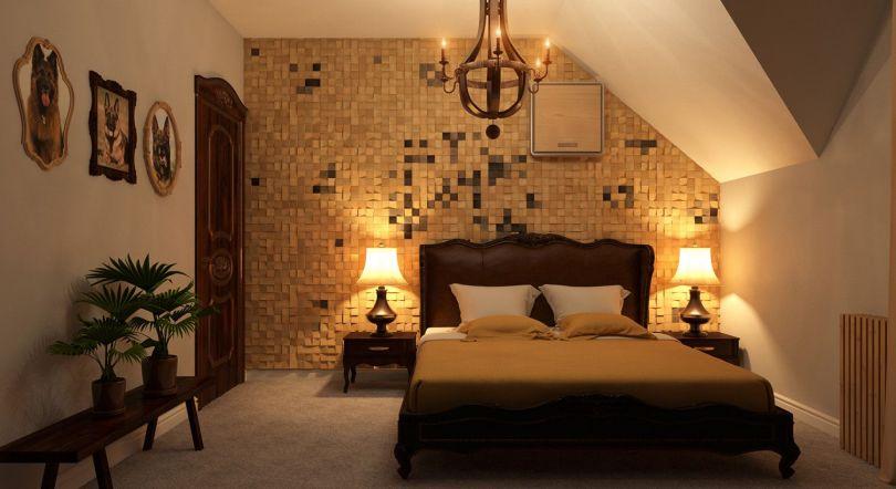 декоративная деревянная мозаика