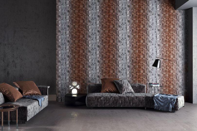 стеновые панели Mosaic Trace