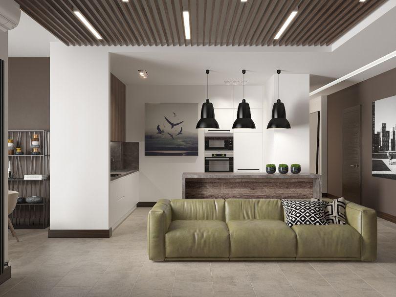 деревянные рейки для потолка с подсветкой
