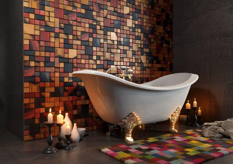 стеновые панели Tessellated