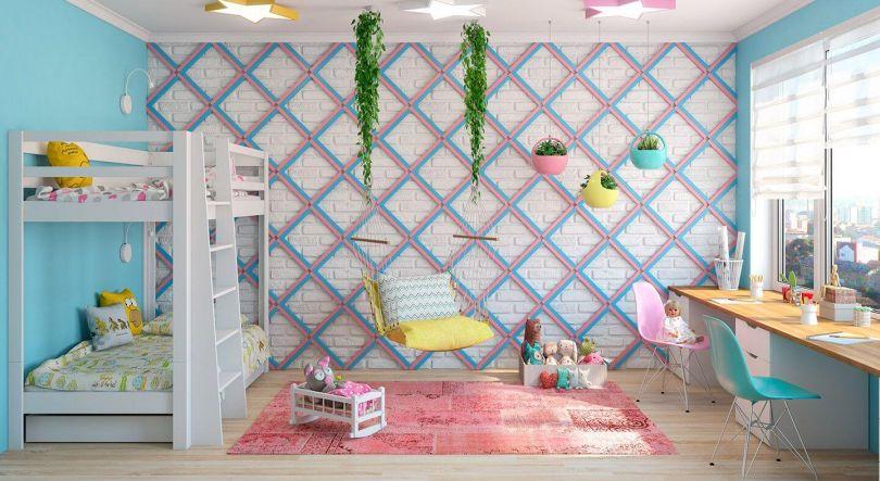 декоративные панели в детской