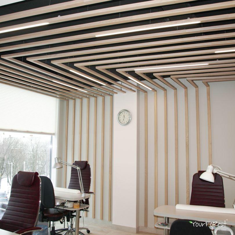 Рейки для отделки потолка и стен