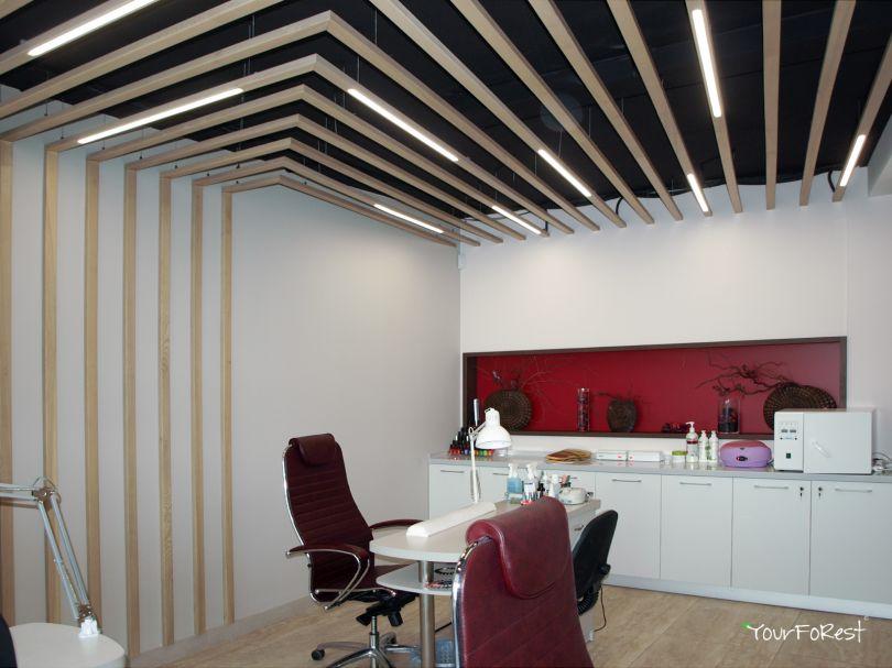 Рейки на потолок с подсветкой