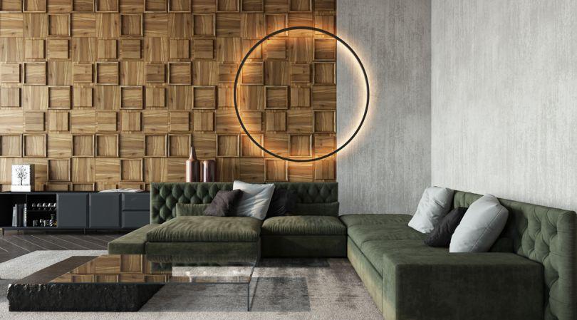 стеновые панели с уникальным дизайном