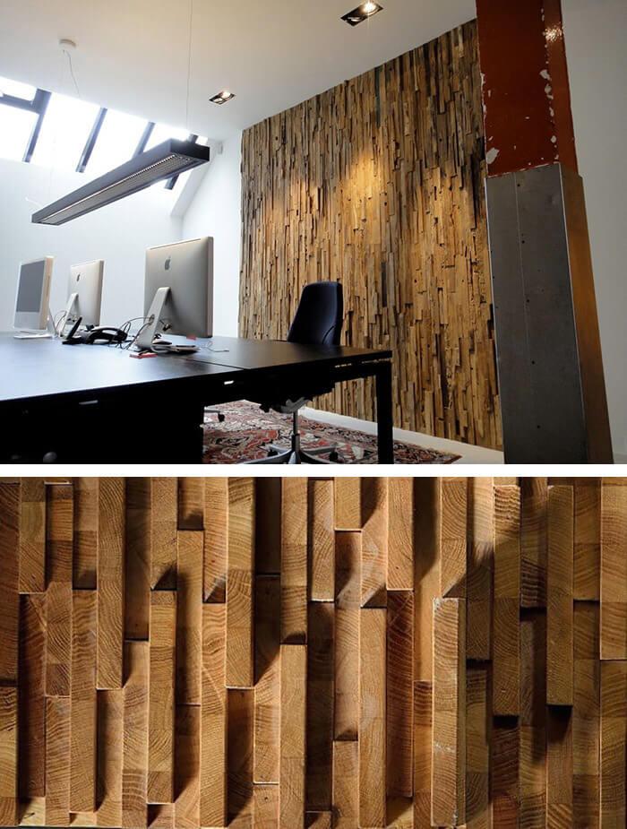 Чем меньше обработана поверхность древесины, тем лучше