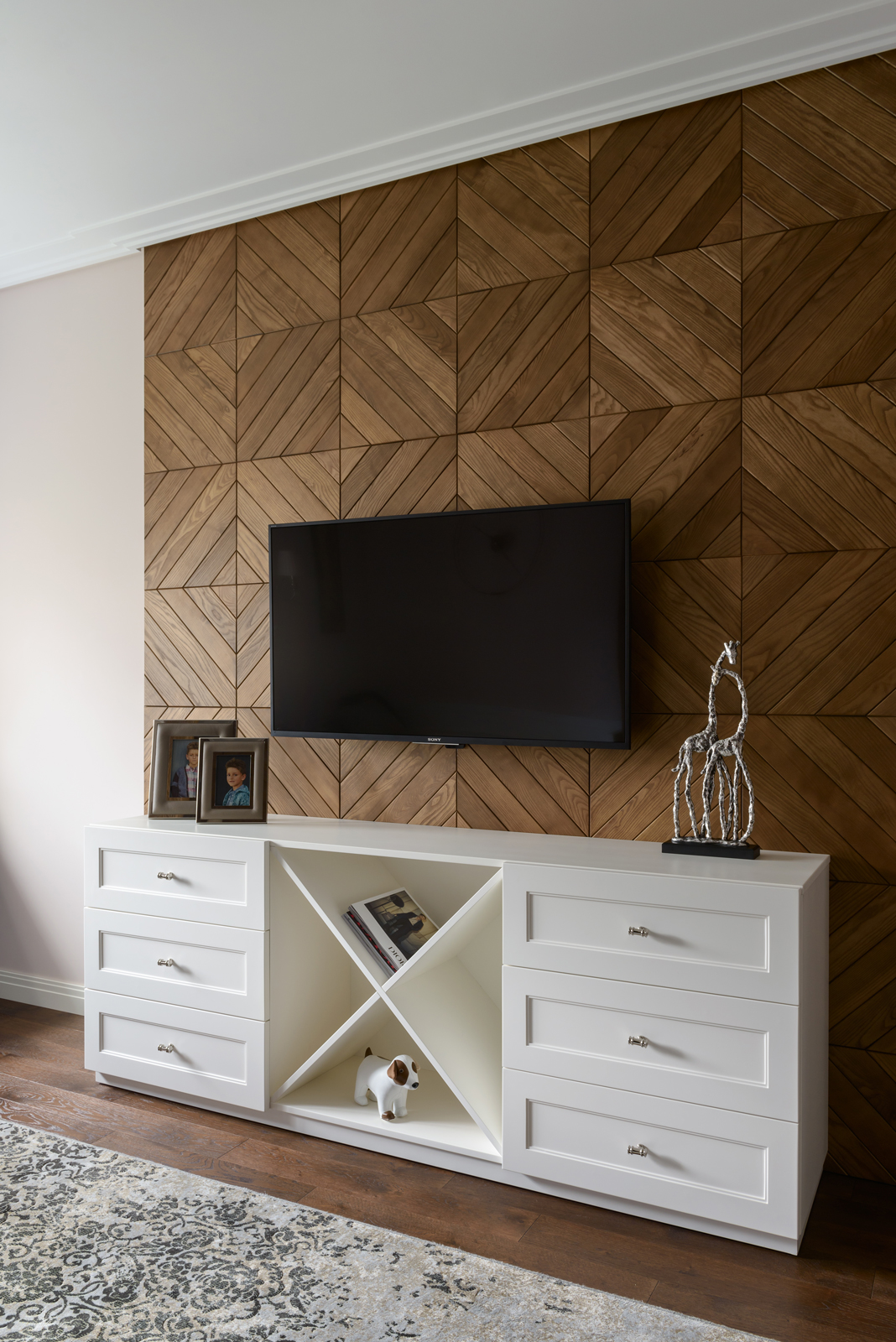 Wood Wall Paneling: 3D Rack Decorative Wooden Panel